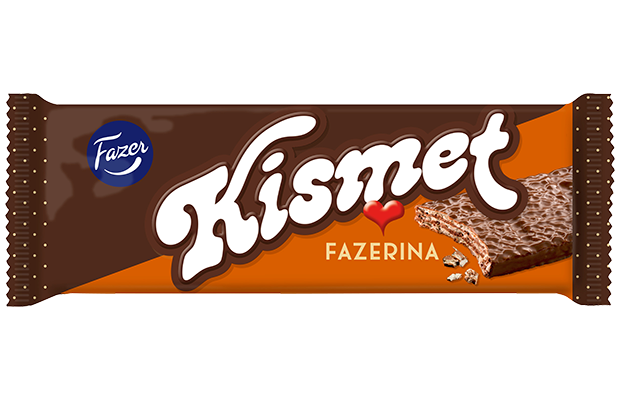 Kismet Fazerina chocolate wafer 55g