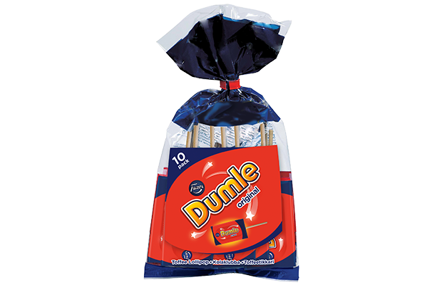 Dumle lollipop bag 10 x 10 g