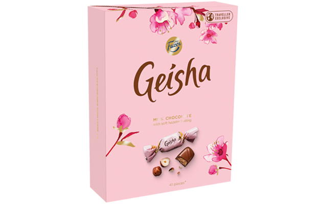 Geisha Milk chocolates with soft hazelnut filling 295 g