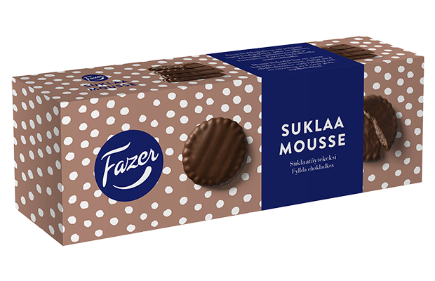 Fazer Suklaamousse 142 g chocolate biscuits