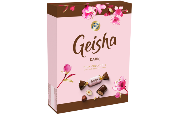 Geisha Dark chocolates with soft hazelnut filling 295 g