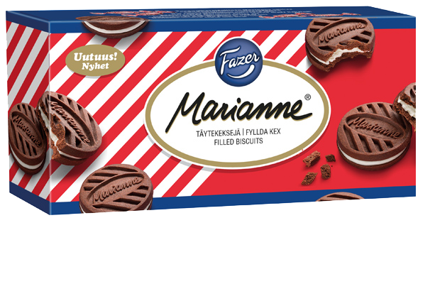 Marianne filled biscuits 345g
