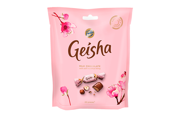 Geisha Milk chocolates with soft hazelnut filling 160 g