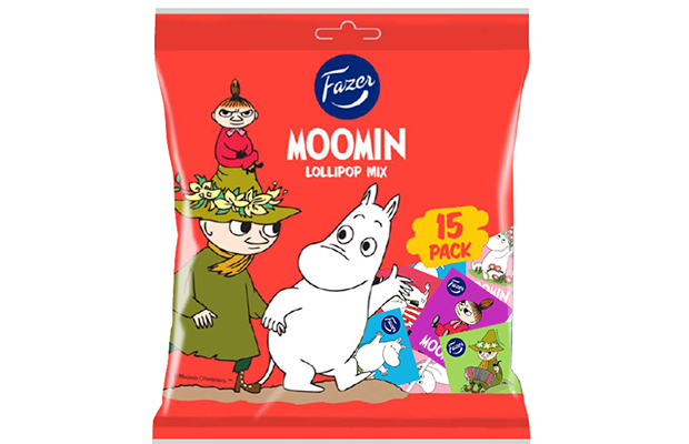 Moomin Lollipop Mix 120 g