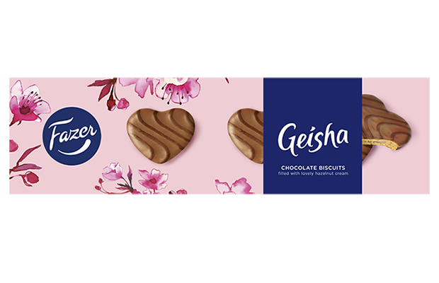 Geisha Chocolate biscuits with lovely hazelnut cream 100 g