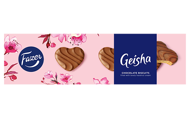 Geisha Chocolate biscuits with hazelnut cream 100 g