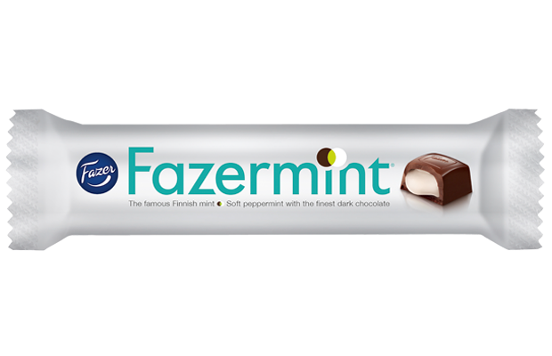 Fazermint 41g filled dark chocolate