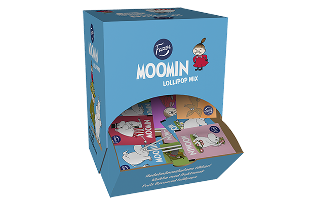 Moomin lollipop 8g